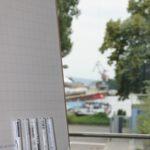 Clipchart vor Hafenkulisse Tagungszentrum