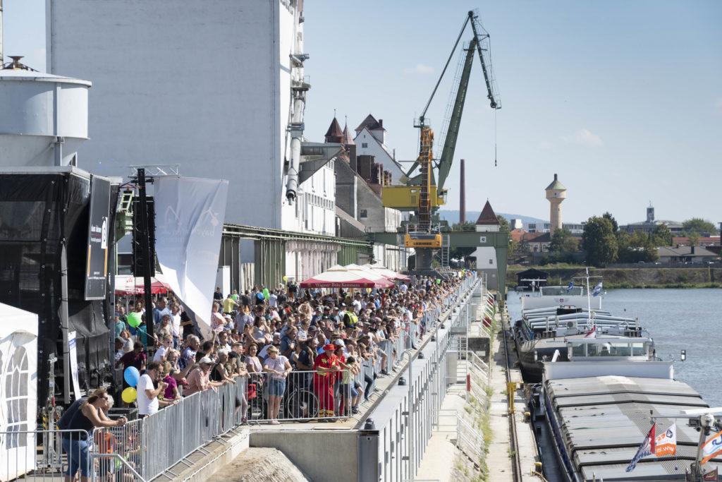 Hafenkai bayernhafne Bamberg Hafenfest 2019