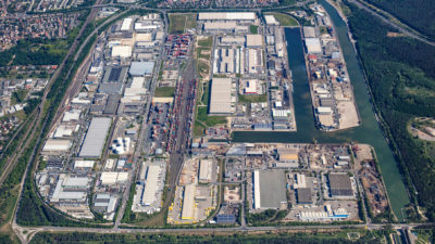 Luftbild 2019 bayernhafen Nürnberg