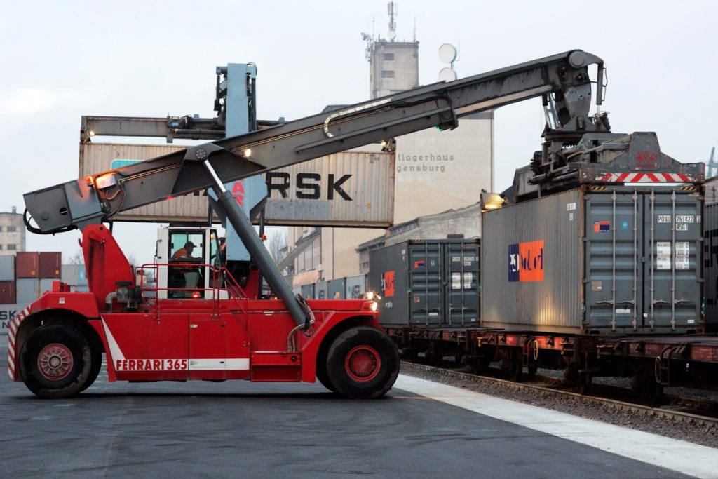 Containerterminal Kombinierter Verkehr IGS CDN CDR