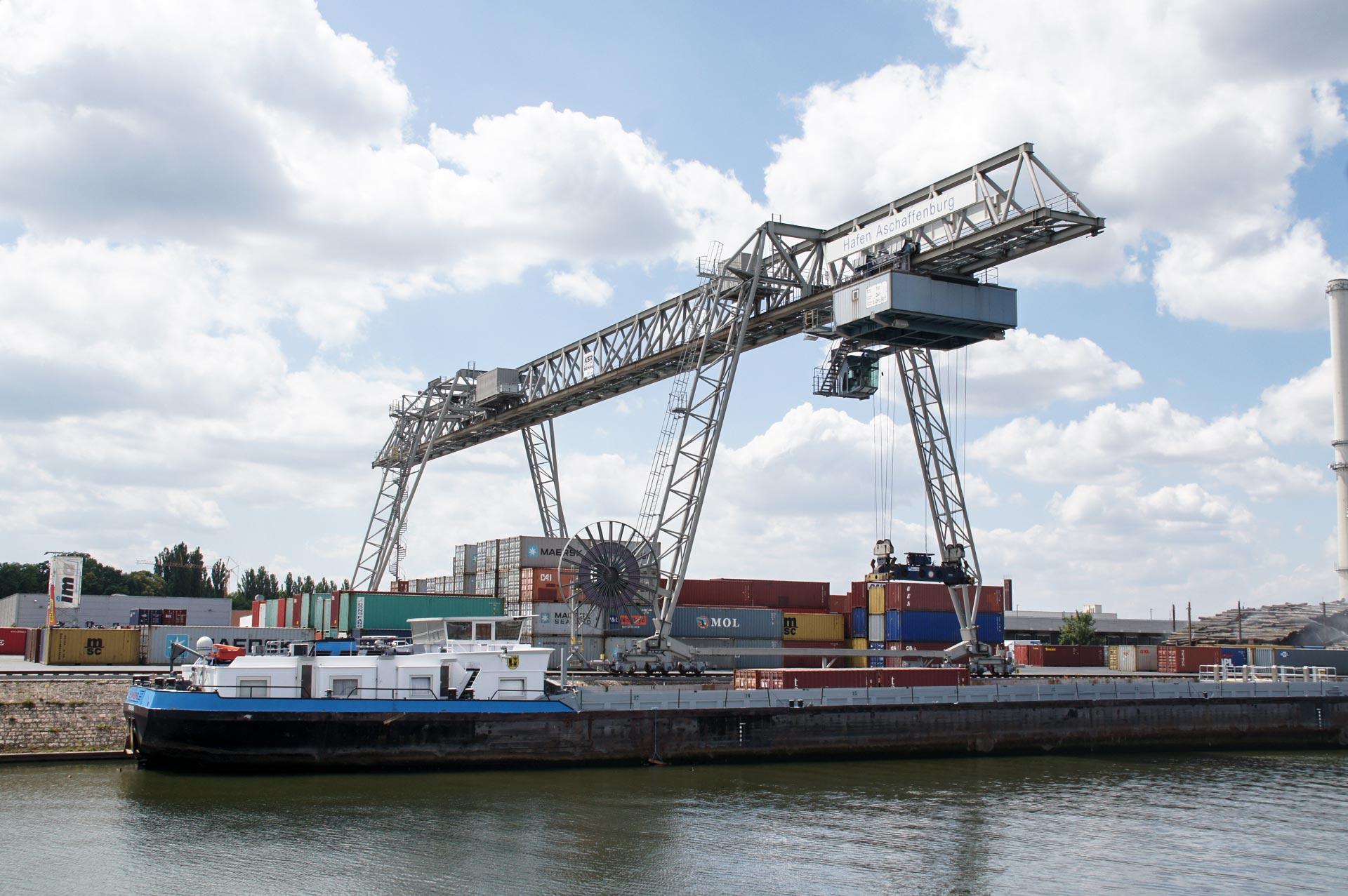 TCA Container Terminal bayernhafen Aschaffenburg