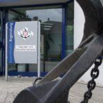 Tagungszentrum Eingang mit Anker