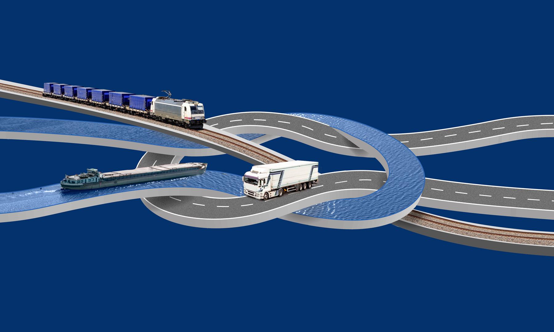 Verknüpfung der Verkehrsträger