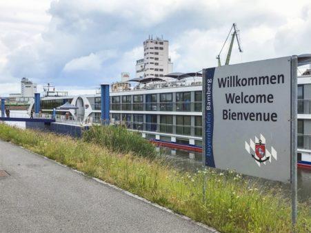 bayernhafen Bamberg Flußkreuzfahrtschiff
