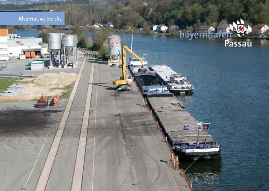 bayernhafen Passau cruise services