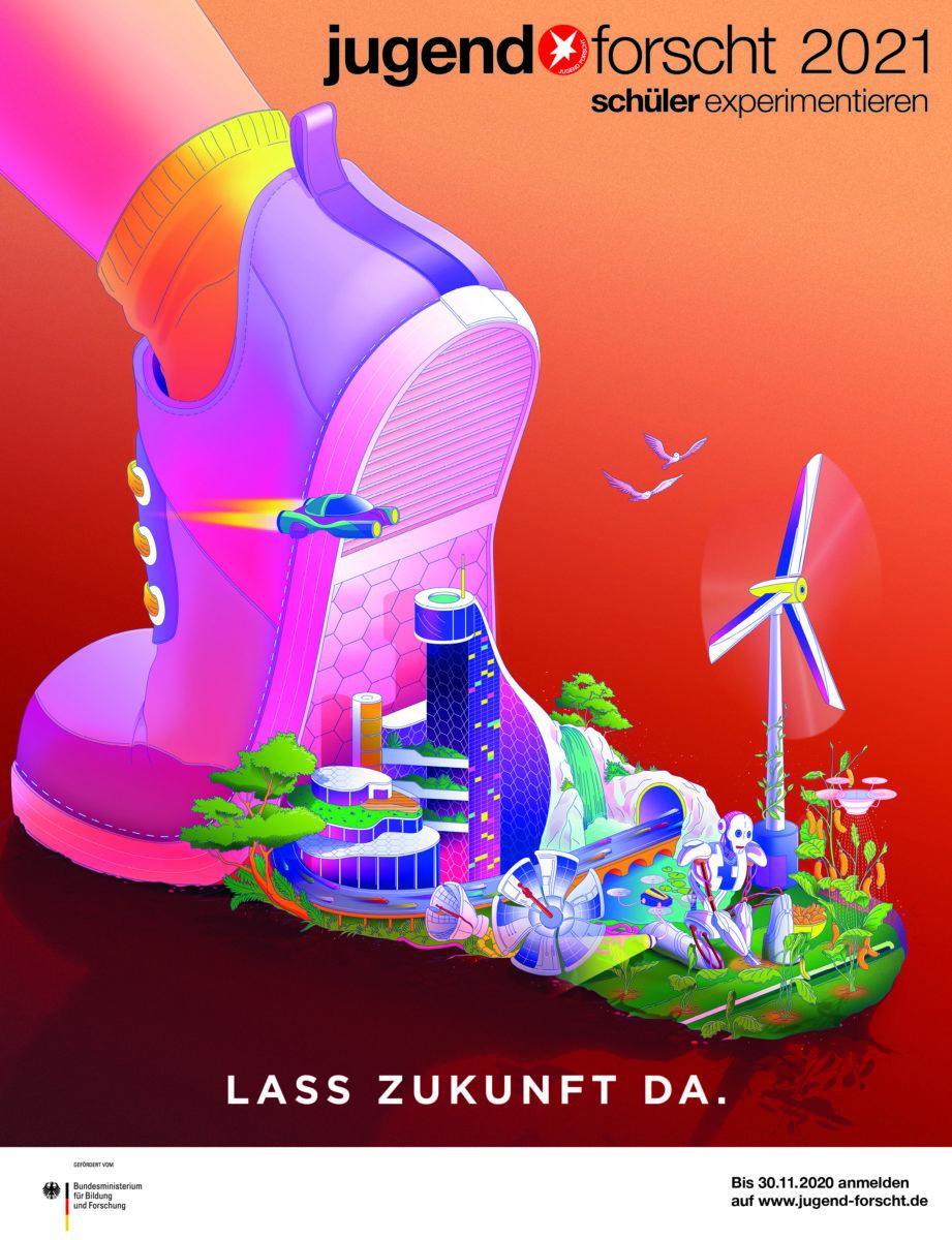 jugend forscht 2021 poster
