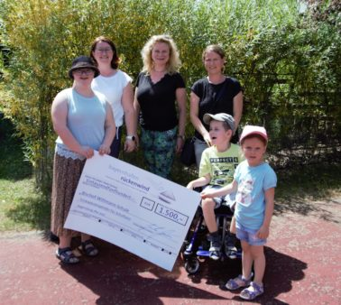Donation award to the Bishop Wittmann Centre