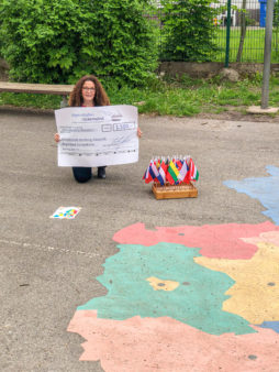 Donation award to Bamberg-Gaustadt Primary and Secondary School